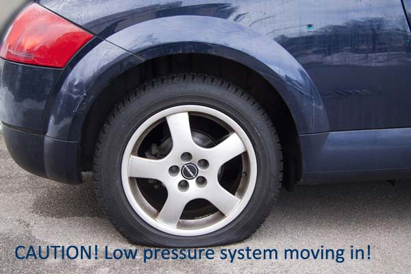 E & R Automotive have the expertise to fix flat tires equipped with TPMS