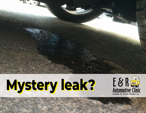 What's leaking from your vehicle