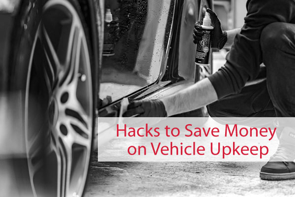 Save money on vehicle upkeep