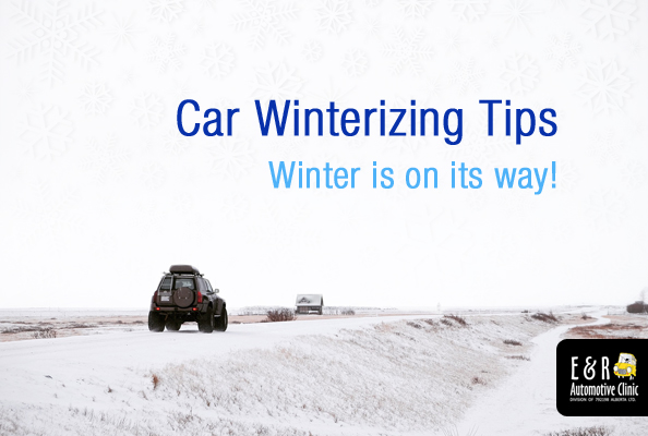 Car winterizing tips
